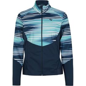 Ziener Nuretta Active Jacket Women, azul/Turquesa